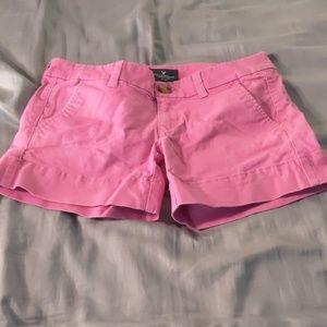 American Eagle Outfitters Shorts - American Eagle Midi Stretch Shorts, 00